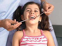 Профессиональная чистка зубов для детей