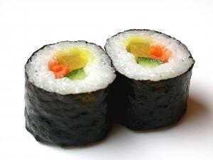 Ешьте суши и не болейте кариесом!