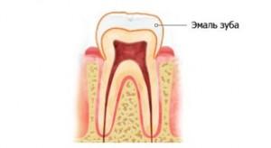 Эмаль зуба - самая твердая ткань
