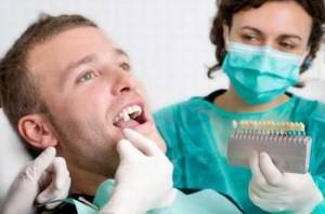 Визначення кольору природних зубів